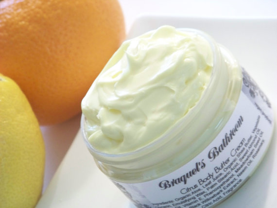 Summer Citrus Body Butter Cream (Vegan)