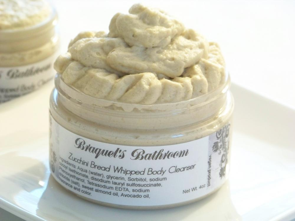 4oz Zucchini Bread Whipped Body Cleanser (NEW)